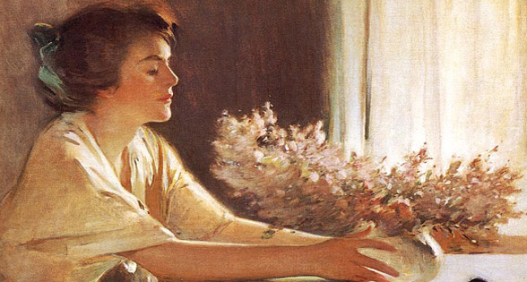 A Meadow Flower di John White Alexander