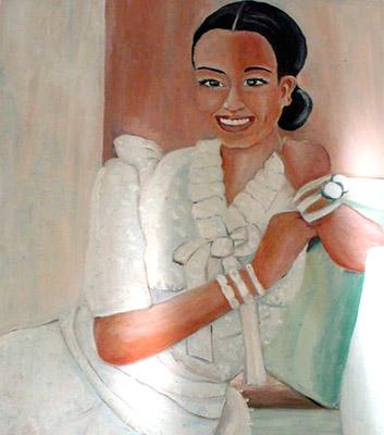 Giovane sorriso di Dorella Dignola