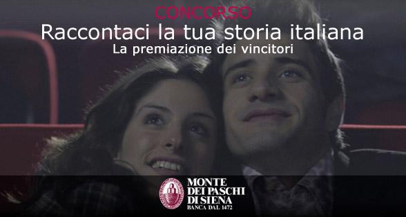 La tua storia italiana - Concorso della Banca Monte dei Paschi di Siena