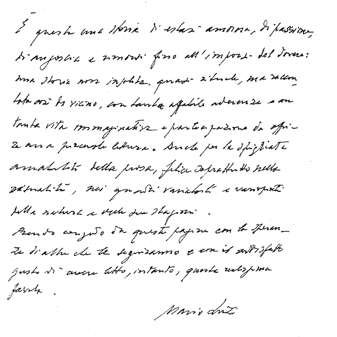 Prefazione di Mario Luzi